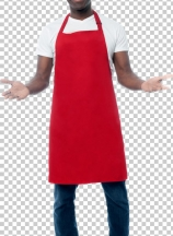 Male chef inviting at restaurant
