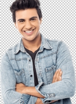 Casual young man with crossed arms