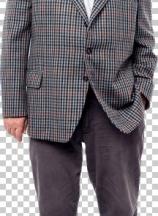 Full length portrait of an old man