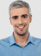 Handsome middle age model