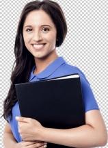 Young woman secretary